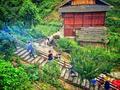 湖南侗族的特色民俗 打三朝抢鱼塘