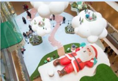 预警!圣诞老人出没杭城啦~