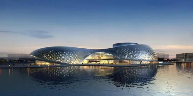 先睹为快!下沙金沙湖畔要建一座高颜值大剧院
