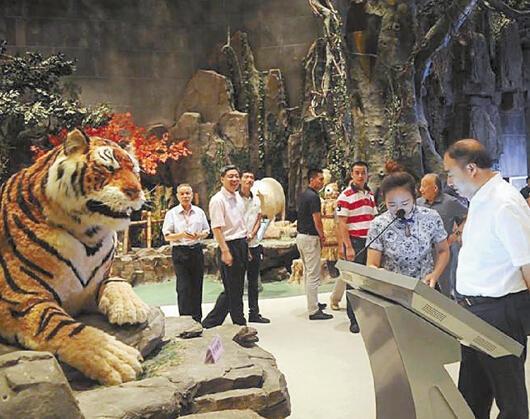 亚洲最大野生动物标本馆落户横店 只因这里明星多