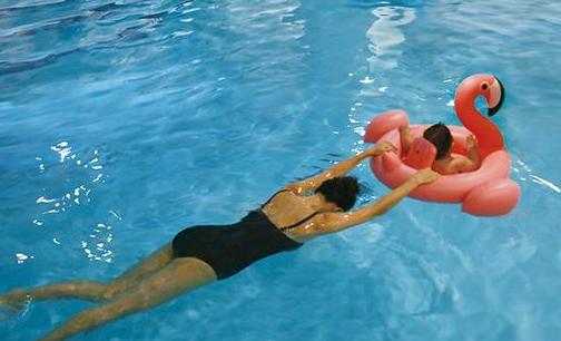 亲子游泳,一件美好的小事儿