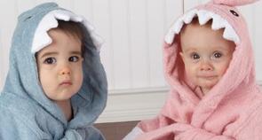 Baby Aspen 婴儿卡通浴袍