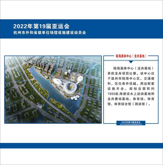 第19届亚运会杭州场馆设施建设与改造全面启动