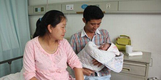 """台州温岭昨日一新生婴儿名叫""""灿鸿"""""""