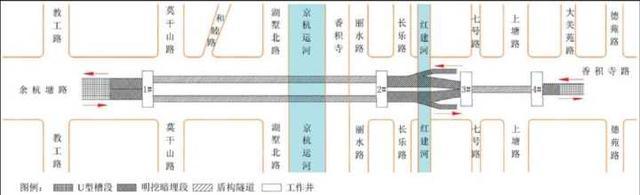 杭城首条下穿古运河城市隧道 2020年建成