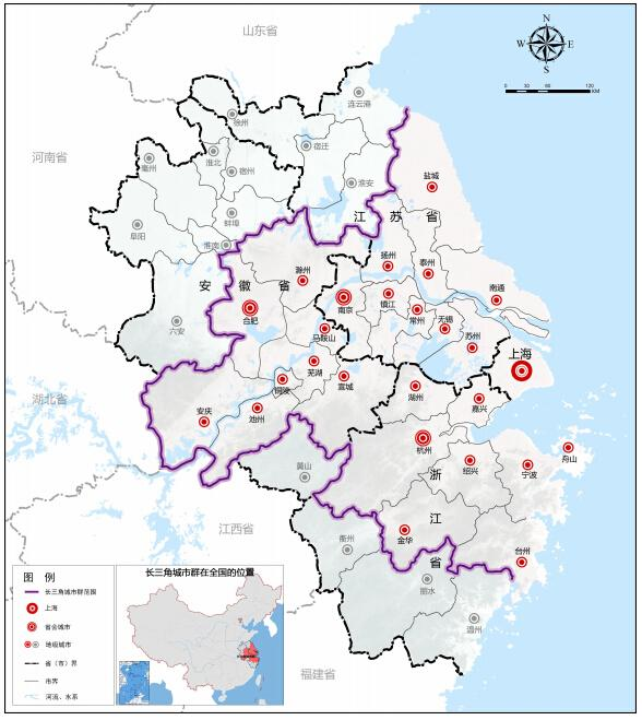 南京至安庆地图