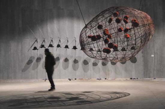 台州首个当代艺术展 去椒江老粮坊看看