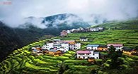 浙西山中小城藏绝色春光
