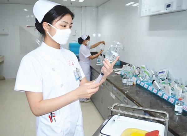 图片来源于网络.-湖州市中心医院完成全院输液集中配置