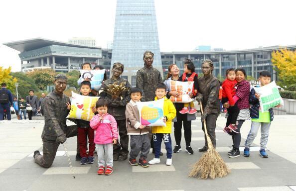 为伢儿们点赞!杭城小学生为这事争做环保公益小卫士