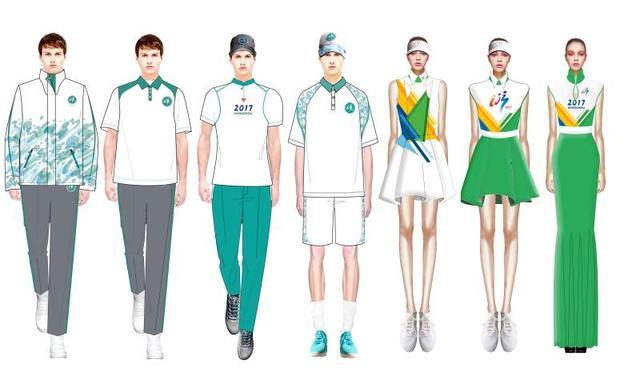 浙江理工大学师生承担本届全国学生运动会服装设计