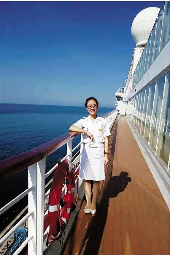 90后妹子的邮轮真实生活 衣服8个月没有晒过太阳