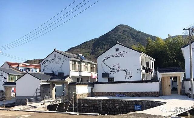 上虞丰惠镇处处呈现美丽乡村实景图