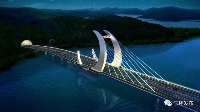 初步设计图-定了 台州玉环县漩门湾大桥就是 月环桥