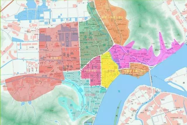 杭州最新版学区划分在此 你家的学区变了吗