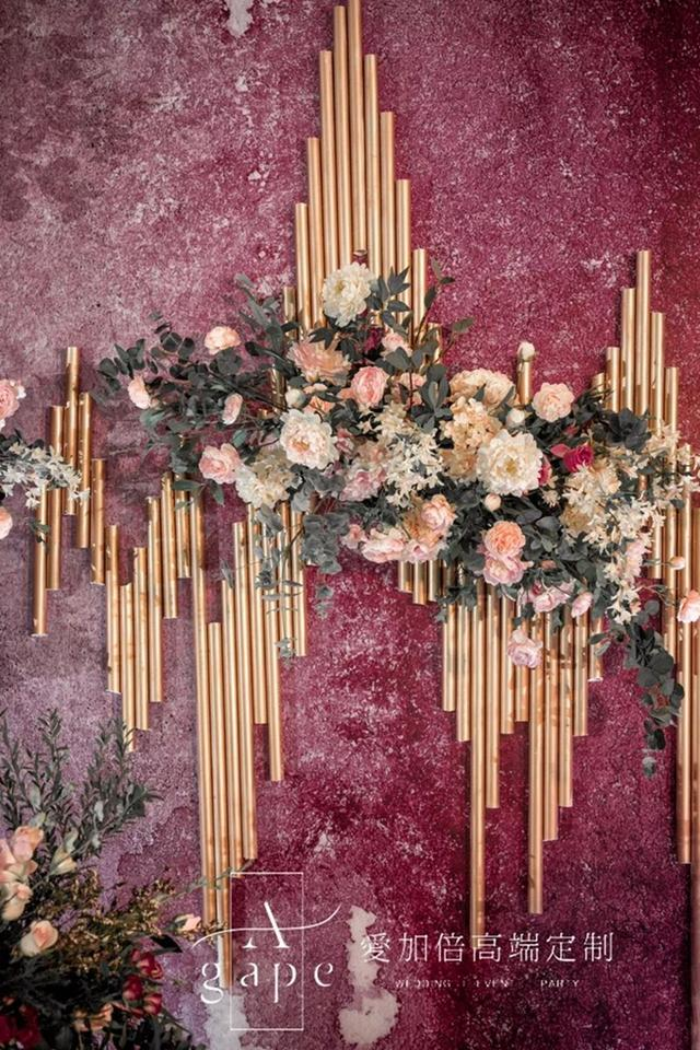 【屋檐下的浪漫】超有质感的轻奢风婚礼