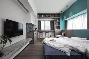 35㎡小公寓一个人住太棒了