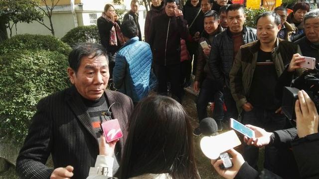 台州64岁老人张开双臂 接下4位跳楼逃生的人