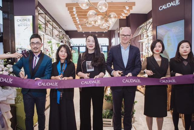 CAUDALIE杭州武林银泰店全新浩瀚停业 感受皓星产品的高效魅力