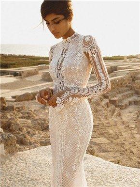 18件性感而不失优雅的时尚婚纱