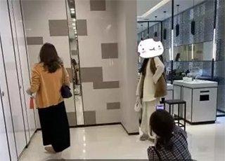 商场洗手间被网红霸占