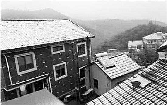 小伙伴的朋友圈飘起雪 杭州或将迎湿冷的春节