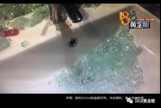 杭州一女子正在洗澡 卫生间的钢化玻璃突然爆了