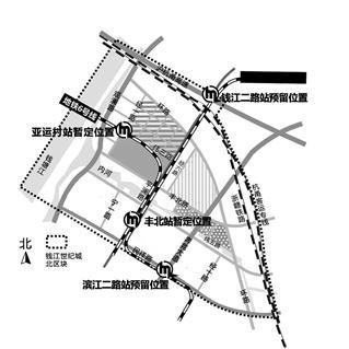 杭州亚运村选址定了!钱江世纪城丰北区块
