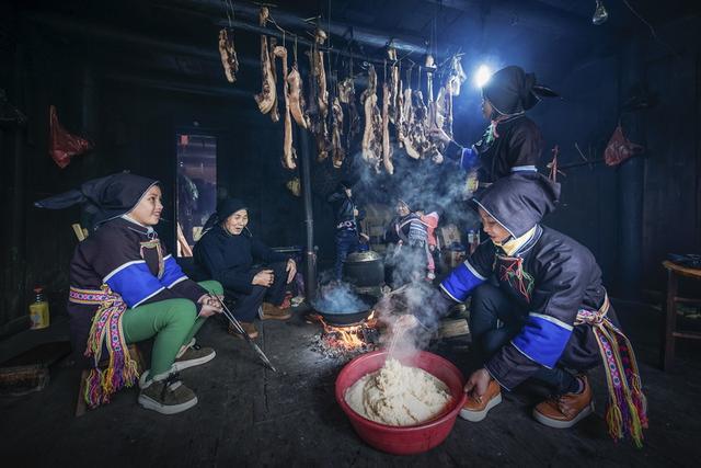 把冬天吃掉 湖南通道芋头古侗寨吃冬节马上开始啦!