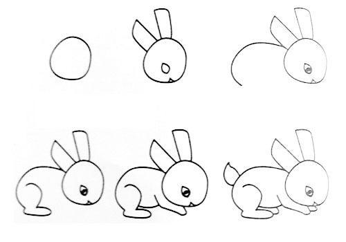 教孩子画各种动物 妈妈爸爸果断收藏