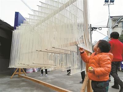 桐庐新合索面年销售逾800吨 传统手艺搭上农旅快车
