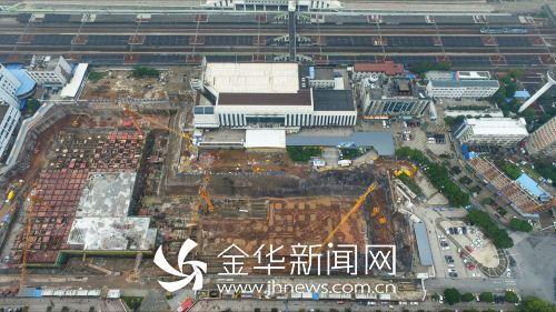 铁路金华站2018年换新颜 打造一流综合交通枢纽