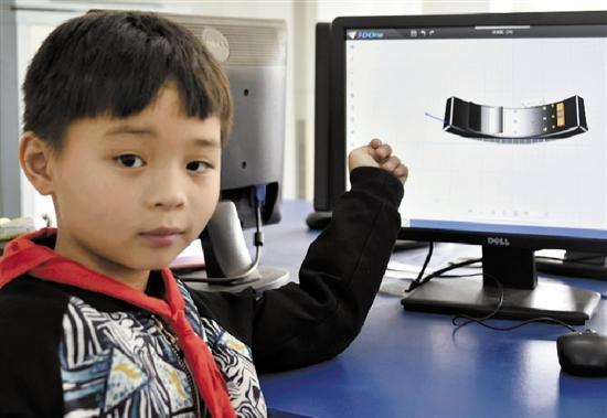 下沙中小学生设计产品