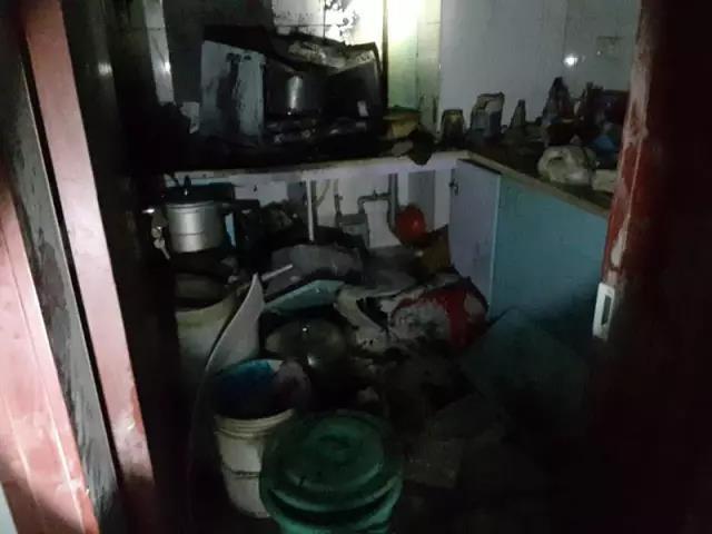昨天杭州发生两起火情 有人去亲戚家串门忘关煤气