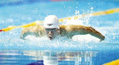 17岁温州游泳天才 成绩超越同龄时的菲尔普斯