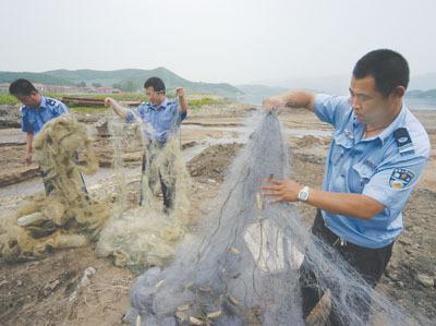 温州查获违禁渔获物32.1斤 这8种海产休渔期禁售