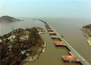 舟山又一座跨海大桥雄起