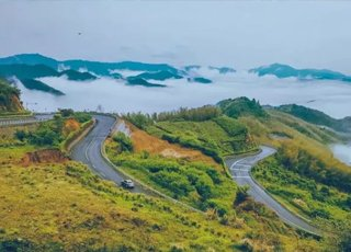 浙条神级盘山公路 一路风景美到逆天