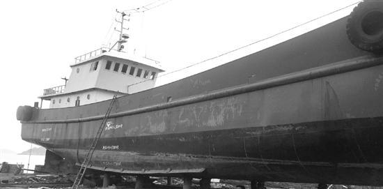 台州一500吨渔船停码头上不见了 找到时已在温州