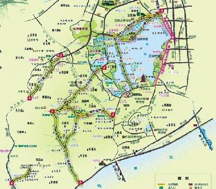 杭州市体育休闲行业协会前两年已先后推出过杭州骑游地图和西湖登山图片
