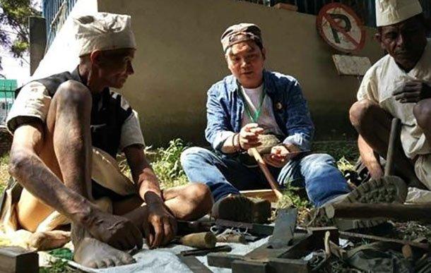 """温州非遗在尼泊尔掀起""""最炫民族风"""