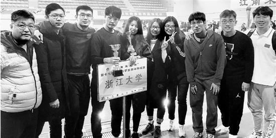 浙大游泳队可能是智商最高的游泳冠军