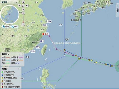 今年七号台风苏力生成预计本周末影响浙江沿版手机拜仁图片