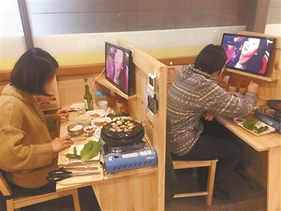 """韩国""""一人烤肉店""""走红 杭州创客却有点惋惜"""