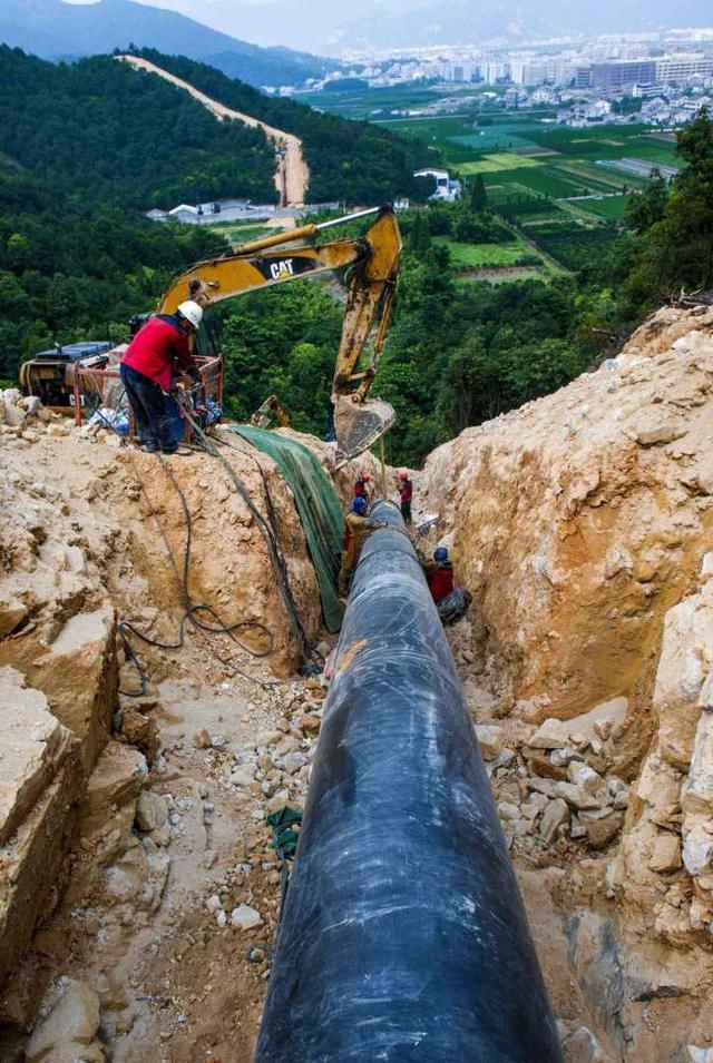 甬台温天然气管道全线贯通 全长419.9公里