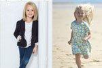 4岁女孩备战米兰时装周