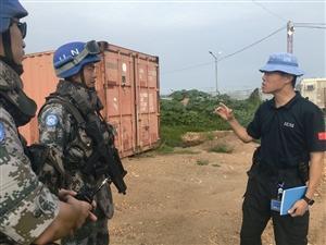 宁波警察回国讲述维和经历 每天能发现AK47等武器