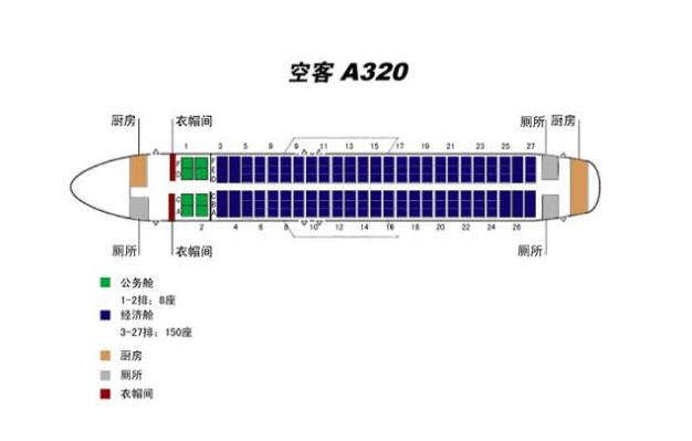 空客320座位图-科学 为你解读航空安全 飞机有安全座位吗