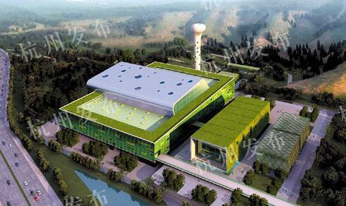 日处理垃圾3千吨 杭州九峰垃圾焚烧厂9月试运行