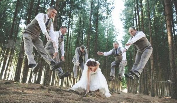 明星婚礼的好看合照 摄影师小心机送给你